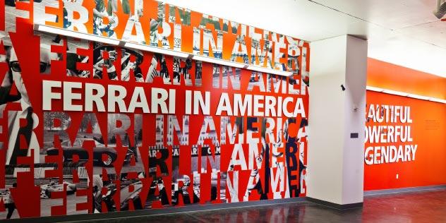 Arscentia  Work  LeMayAmericas Car Museum  Ferrari in America
